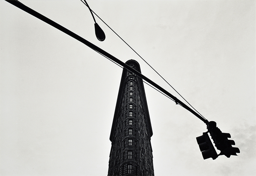 Флэтайрон-билдинг, Нью-Йорк, США Flatiron Building, Study 1, New York City, USA 1976
